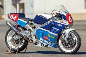 ベアリアスRGV250Γ(スズキRGV250Γ)'80年代レプリカ時代を知るライダーの遊び心をサポート【Heritage&Legends】