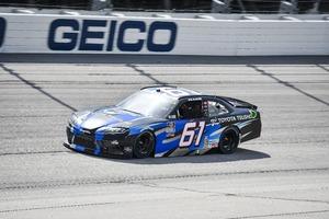 NASCARにHREがスープラでスポット参戦! ダーリントン戦を9番手でフィニッシュ【NASCAR Xfinityシリーズ】
