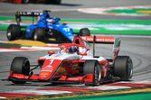 レッドブルジュニアのハウガーが優勝。岩佐歩夢は4台抜くも予選の低調が響く【FIA-F3第1戦スペイン レース3】
