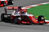 FIA F3バルセロナ:レース3はレッドブル育成のハウガーが独走V。岩佐歩夢は15位