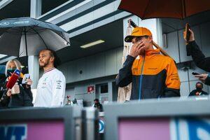 初勝利を逃がし落胆するノリス「ステイアウトは僕の判断。雨が強まるという情報はなかった」マクラーレン/F1第15戦