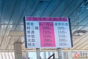 「1000円値上げ効果」あった? 賛否両論あった「ロードプライシング」 今後も料金変動はあるか