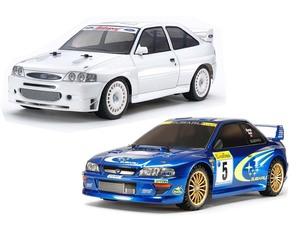 蘇る90年代WRC!! インプやランエボのライバル、フォード エスコートがタミヤからRCカーで登場!!