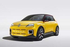 ルノーの名車「サンク」が電気自動車で復活か? デザインはオリジナルのアイコンと近未来が融合