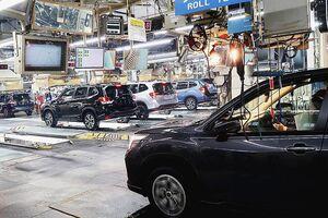 スバル、半導体不足で国内工場の生産調整 2日間稼働停止 1月は数千台規模の減産
