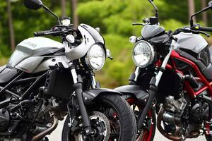 スズキの大型バイク『SV650』と『SV650X』はどっちがおすすめ? コスパも良いけど、それだけじゃない!【SUZUKI SV650/SV650X 比較インプレ・前編】