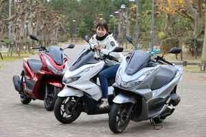ほぼ月刊オートバイ「梅本まどかとオートバイ」vol.29 HONDA PCXシリーズ 乗り比べ