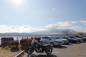 富士山と山中湖を背景に愛車の撮影 「長池親水公園」なら駐車場が広くアクセスも簡単