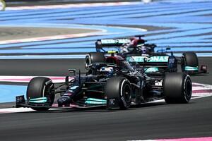 F1フランスFP1:メルセデス復調か、ボッタス首位。フェルスタッペン3番手、角田裕毅は10番手