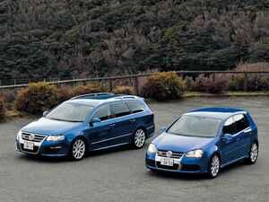 【試乗】パサートR36とゴルフR32、Rモデルがフォルクスワーゲンらしさを失うことなどない【10年ひと昔の新車】