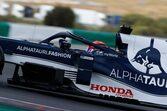 【角田裕毅F1第3戦密着】「直すべきところもある」と臨んだ初走行のポルトガル。ミスから学び、初日は61周を走行