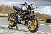 希少な2ストエンジン搭載のLangen Motorcycles「Two Stroke」グッドウッドでヒルクライム走行に参加
