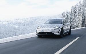〈CES2021オンライン〉ソニーのEV「ビジョンS」、オーストリアで試作車両の公道テスト 自動運転レベル5目指す