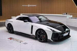 イタルデザインが手掛けた特別なGT-Rのテストカーが銀座に降臨! 3月末まで展示中