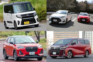 登録車販売はトヨタが独走! 経済的に厳しいコロナ禍で高収益の「高額車」が売れる理由とは?