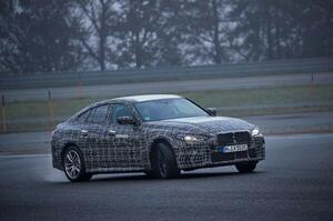 【公式画像公開】新型BMW i4 テストは最終段階へ 最高出力530ps、航続距離600km