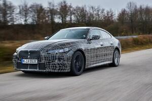BMW、電動4ドアクーペ「i4」のテストの模様を公開