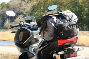話題の『ADV150』の荷物積載性をキャンプでテスト!【ホンダのバイクでキャンプしてみた!/Honda ADV150 中編】