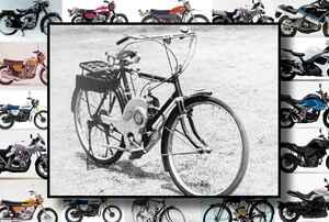 スズキが初めて発売した『量産型バイク』って何だか知ってる?【スズキのバイク今昔辞典 Vol.001/パワーフリー号(1952年)】