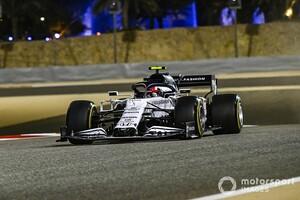 F1サクヒールFP3速報:レッドブル・ホンダのフェルスタッペンがトップ。アルファタウリ・ホンダのガスリー3番手