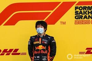 角田裕毅、F1スーパーライセンス発給条件を満たす……F2最終戦サクヒール・レース1の角田優勝が確定。マゼピンは10秒加算ペナルティ