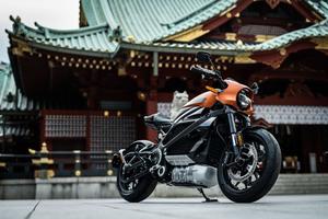 ハーレーダビッドソン初の電動スポーツバイク「ライブワイヤー」、日本での予約販売をスタート