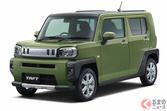 """軽SUV「タフト」にターボ車&特別仕様車設定! 「ウェイク」もレジャー要素強化の""""VS""""登場!"""