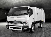 三菱ふそう、EVゴミ収集車を厚木市に納入 走行から架装まですべて電気で 充電はゴミ焼却エネルギー