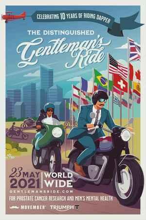 今年も開催『ジェントルマンズライド横浜』2021年5月23日(日)午前10時スタート