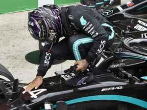 F1ポルトガルGP、ハミルトンがポールtoウインの完勝で史上最多勝利記録達成、フェルスタッペンは3位【モータースポーツ】