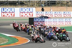 【MotoGP】中上貴晶、初PPから一転クラッシュを悔いる。「信じられないほどのプレッシャーに対処できなかった」