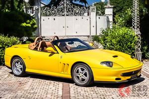元オーナーはエンツォの息子! 3500万円のフェラーリのレアモデルとは?