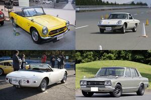 70代が青春時代に憧れたスポーツカーとは? 4台すべてが「伝説の名車」だった!