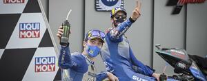<MotoGP> 最高の喜びと最高のガッカリ~レースはスズキが3度目のW表彰台~