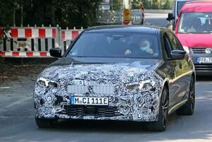 【スクープ】2022年夏デビュー!? BMW 3シリーズ改良新型、新設計のLEDが初露出!