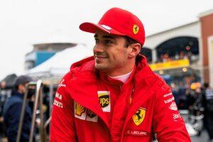 ルクレール「表彰台を逃したけれど、戦略に後悔はない」フェラーリ/F1第16戦決勝