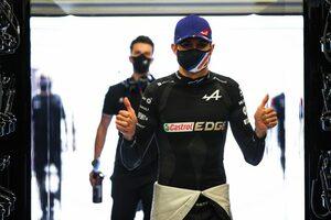 オコン、タイヤ無交換で10位「リスクを取ってポイント獲得。最高の気分だ」アルピーヌ/F1第16戦決勝
