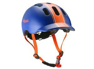 ぴったりなフィット感、日本人の頭に合わせたキッズ用ヘルメット