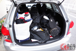 沢山買い物したけど、クルマに荷物はどれだけ積める? 積みすぎは違反になるのか