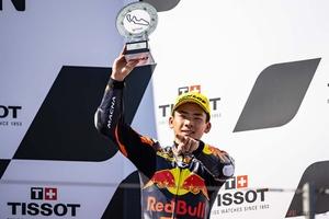 【MotoGP第13戦アラゴンGP】Moto3ライダー佐々木歩夢選手、厳しい時間を乗り越えて獲得した3位表彰台