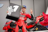2連勝を挙げたミラー、科されたペナルティに「『ありえない』と信じられなかった」/MotoGP第5戦決勝トップ3コメント