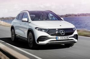 【電動コンパクトSUV】新型メルセデス・ベンツEQA発表 2021年春欧州発売予定