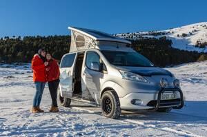 これ1台で冬のアウトドアは完璧! 電動e-NV200ウィンター・キャンパー・コンセプトが楽しそうだ