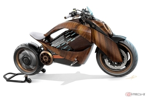 Newron Motors「EV-1」 700万円オーバーの最新電動バイクを身近に感じさせる1/24スケールモデル登場