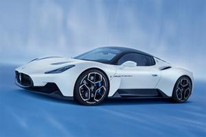 マセラティの新型スポーツモデル「MC20」が内装にアルカンターラの素材を採用