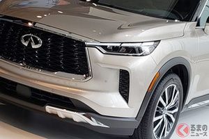 全長5m級の高級3列SUV世界初公開! プレミアムなインフィニティ新型「QX60」を2021年秋に米で発売