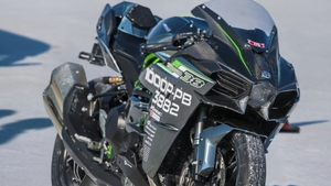 カワサキの技術を結集!世界最速記録を樹立したスーパーチャージドエンジン搭載のモンスターマシン「Ninja H2」