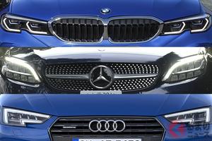 輸入車といえばコレ! メルセデス、BMW、アウディの「Dセグメント」を比べてみた