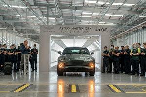 アストンマーティン初の本格SUV、「DBX」の量産仕様がラインオフ!