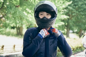 『小野木里奈の○○○○○日和』聖蹟桜ヶ丘までバイク散歩を楽しみました